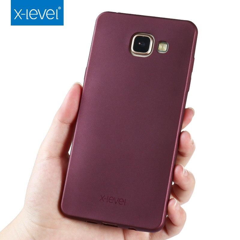 X-Level TPU Phone-Case Back-Cover Guardian A510 A710 A520 Samsung A3 Silicone Matte
