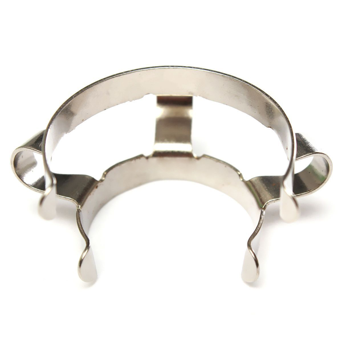Affordable 2pcs 24# Stainless Steel Clip Keck Clamp For 24/29 24/40 Glass Ground Joint
