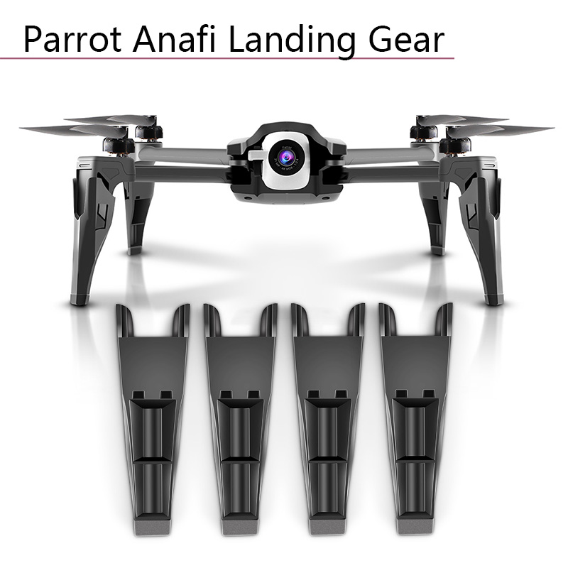 4pcs Shock Absorber Bracket Protector Tripod Increased Height Extender Landing Gear For Parrot Anafi Drone Camera Accessories