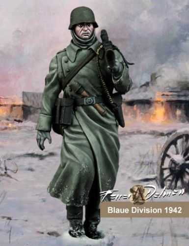 Unpainted Kit 1/24  75mm Division Soldier German Army soldier 75mm   Resin Figure miniature garage kit