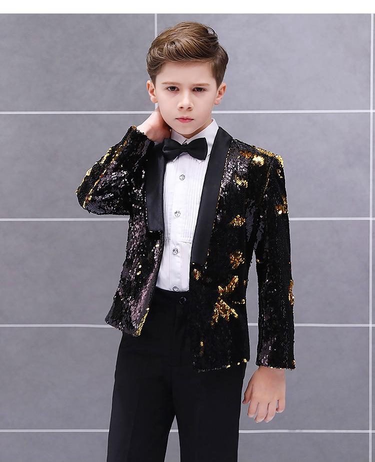 jaqueta + calças camisa gravata borboleta 4 conjuntos