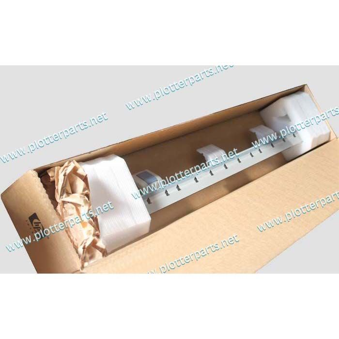 Overdrive roller assembly (D-size) for HP Designjet 430 450 455CA 488CA 820 24inch A1 used Plotter Part C4713-60115 c3174 40011 hp designjet 330 430c 450ca 455ca 488ca spindle end cap 2 inch compatible new