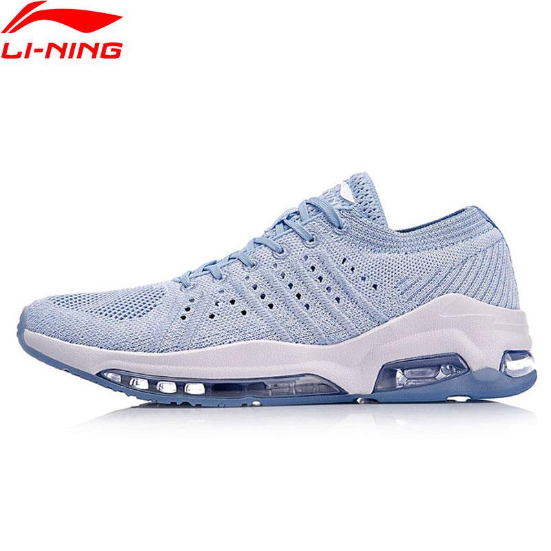 Li-Ning Women BUBBLE FACE WG Walking Shoes Mono Yarn Classic LiNing Cushion Sports Shoes Breathable Sneakers AGCN016 YXB153 li ning bubble ace walking shoes men sneakers lining breathable mono yarn sports shoes aglm019 yxb077