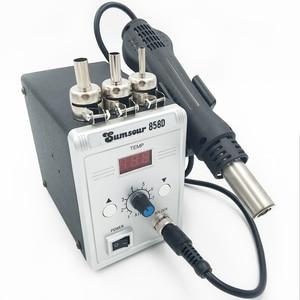 Image 1 - סוג חדש אוויר חם אקדח 858D הסרת הלחמה Reflow הלחמה SMD110V/220V 700W עבור ריתוך תיקון כלים