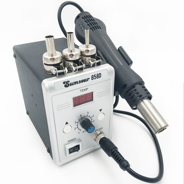 Hot Air Desoldering Rework SMD Solder Station