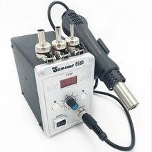 Nowy typ gorąca wiatrówka 858D rozlutownica lutowanie rozpływowe SMD110V/220V 700W na przyrządy do lutowania