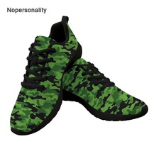 Nopersonality Cool Camouflage Sneakers for Men Lace Up Casual Male Mesh Shoes No-slip Men Vulcanize Sneakers Breathable mesh patchwork lace up nice sneakers for men