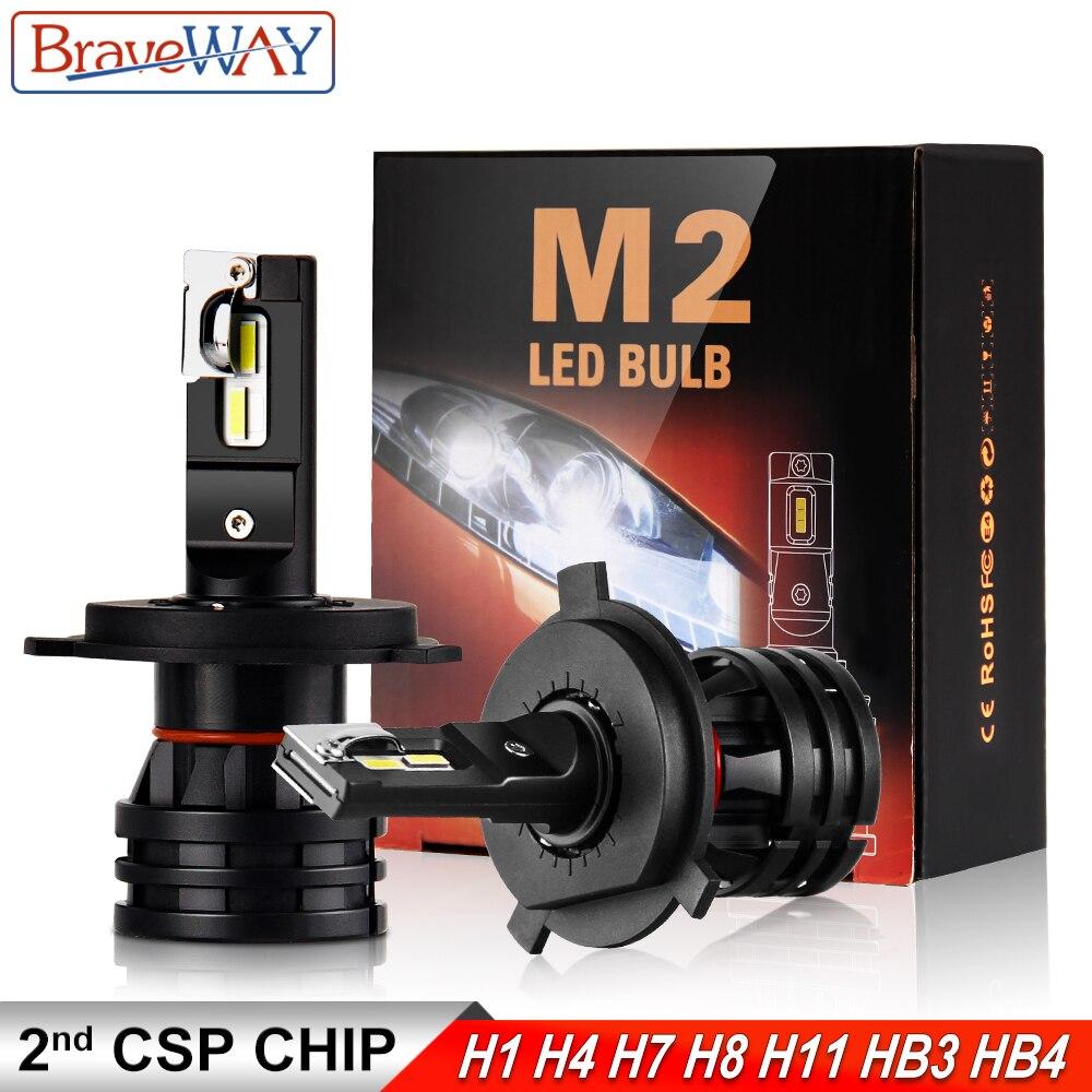 BraveWay 16000LM LED Car Light Bulbs H4 H7 H8 H9 H11 HB3 HB4 9005 9006 LED