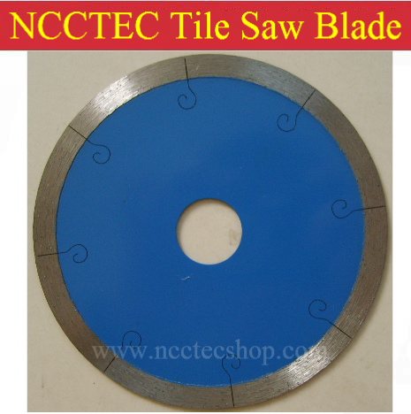 7 NCCTEC Diamond circle saw blades NSB7CT | 180mm thin saw blade with J Fishhook slot for cutting ceramic tiles | FREE shipping no 1 twist plaster saws jewelry spiral teeth saw blades cutting blade for saw bow eight kinds of sizes 144 pcs bag