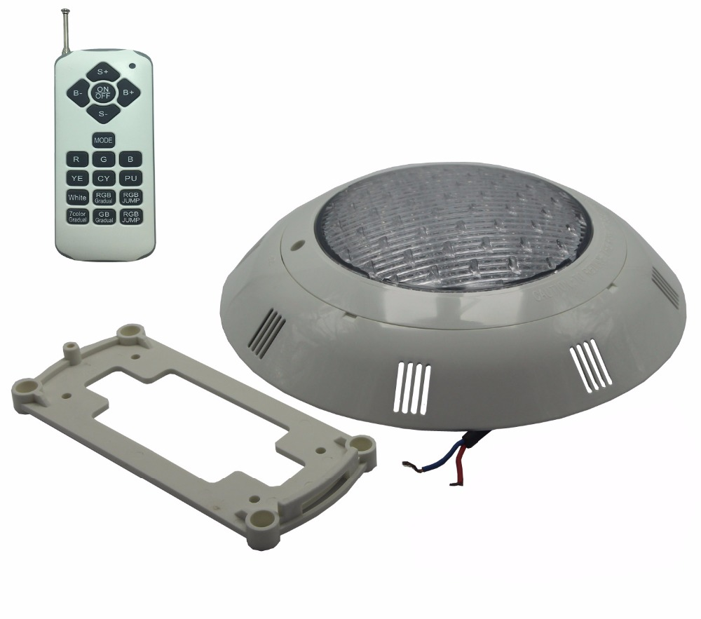 Pool Lights with Fountain 12V AC Underwater Light IP 68 Waterproof Spa Sauna Lamp RGB Multiple Color with Remote 36W 45W 54W