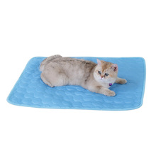Pet Summer Cooling Mats Blanket Pet Dog Bed Ice Pad for Dogs Cats Sofa Portable Car Travel Camping Yoga Sleeping Pet Accessories summer dog cooling mats cat blanket ice pet dog bed mats for dogs cats sofa portable tour camping yoga sleeping pet accessories