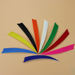 High Quality 36pcs/lot DIY 5 inch Turkey Feather Real Arrow Feather Vans For DIY Arrow Hunting Free Shipping