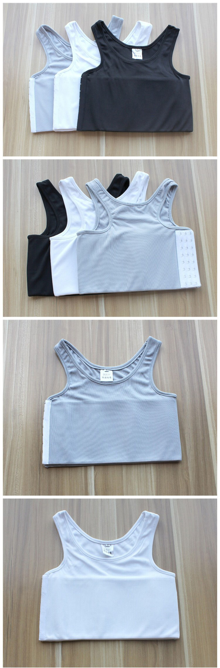 Summer Mesh Chest Breathable Corset Flat Breast Binder for Tomboy Lesbian Trans Short Vest Binder S-4xl plus size Crop Top
