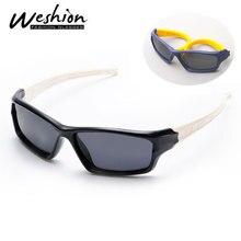 Брендовые дизайнерские детские солнцезащитные очки, Поляризационные детские солнцезащитные очки для маленьких мальчиков и девочек TAC TPEE, гибкие защитные очки Oculos De Sol