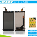 100% tested Black Full LCD DIsplay with Touch Screen Digitizer Assembly Replacement For ZTE Blade V2 Lite A450 Free shipping