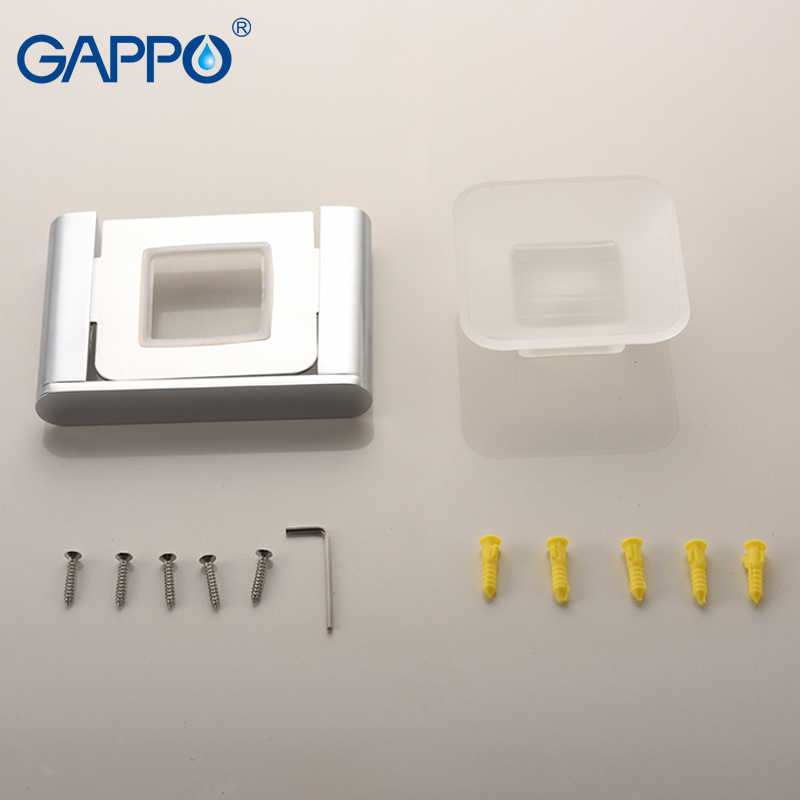 GAPPO mydelniczki montowany na ścianie łazienki akcesoria do kąpieli mydelniczki płyta łazienkowe stojaki do przechowywania