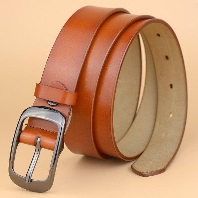 New Fashion Split Leather Belt For Woman