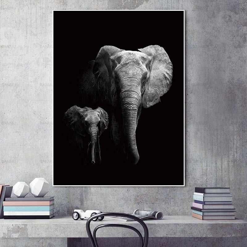 Animal canvas painting Wall art pictures decor poster art prints animals on canvas decoration for living room Wall Picture