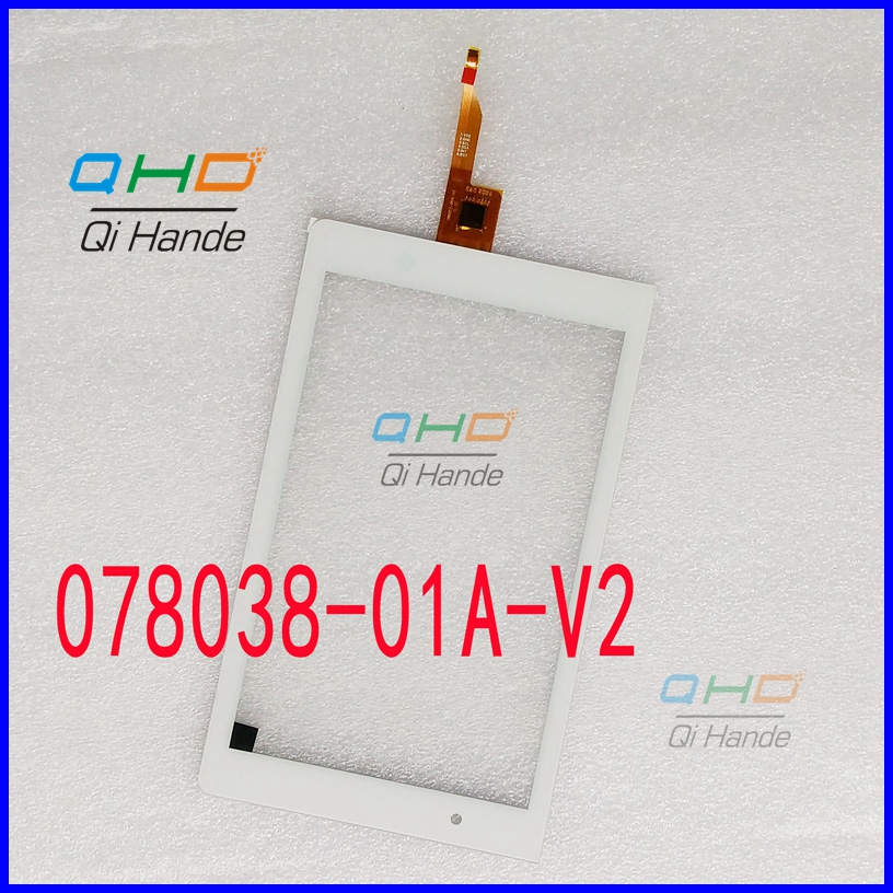New replacement Capacitive touch screen touch panel digitizer sensor For 8'' inch Tablet 080217-01A-V2 Free Shipping new capacitive touch panel 7 inch mystery mid 703g tablet touch screen digitizer glass sensor replacement free shipping