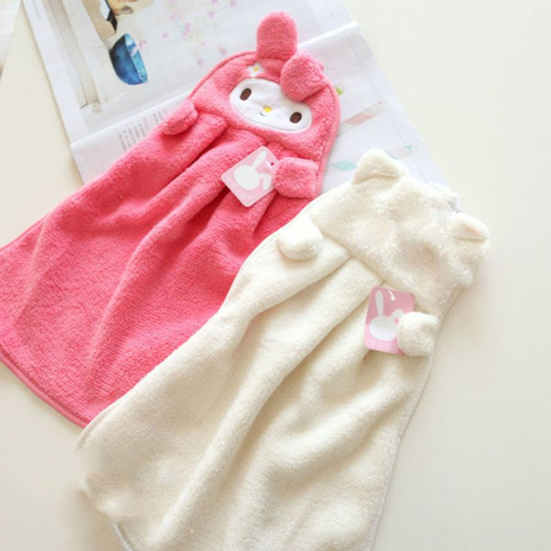 sweet candy colored cartoon baby towel super soft coral fleece kid child towel wipe sweat hung towel