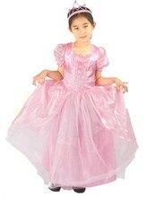high quality carnival  cosplay Performance  girls party dress Aurora  sleeping beauty princess dress недорого
