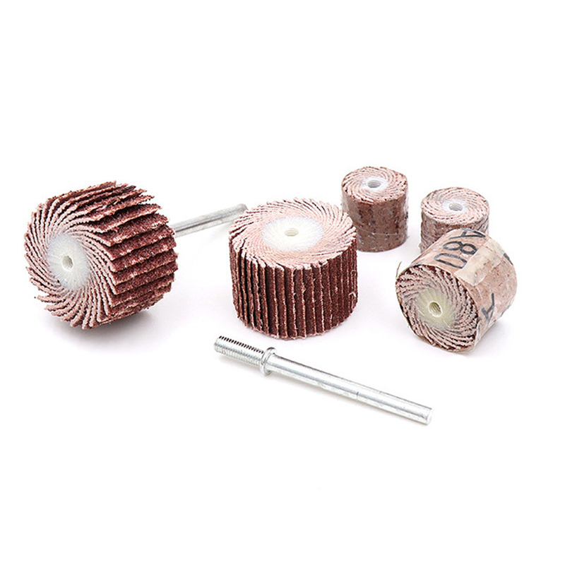 10pcs 20mm Grinding Head Grit 80~600 Grinding Sandpaper Handlewheel Blind Head 3mm Shank Mandrel For Rotary Drill Polish Tool