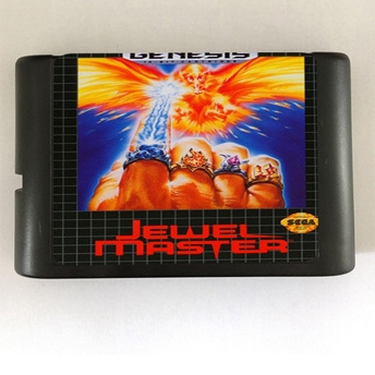 Top quality 16 bit Sega MD game Cartridge for Megadrive Genesis system --- Jewel Master image