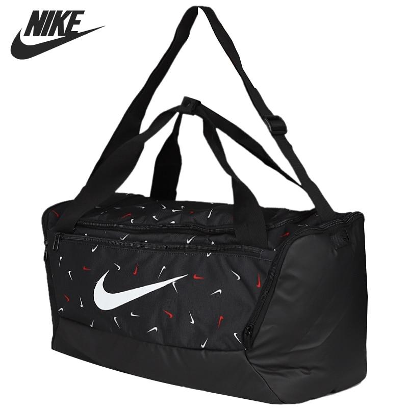 Original New Arrival  NIKE NK BRSLA S DUFF-9.0 AOP 2 Unisex  Handbags Sports Bags