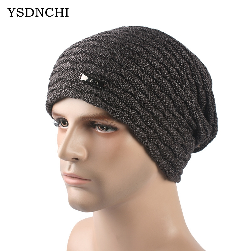 soft elasticity thicken cashmere wool knee warmer supporter black pair YSDNCHI Winter Metal Nameplate Unisex Thicken Cap Cashmere Calotte Beanies Autumn Windproof Warm Mens Wool Knitted Caps 5 Colors