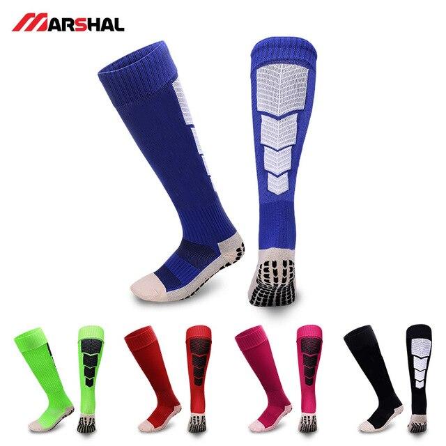 Высококачественные противоскользящие футбольные носки мужские