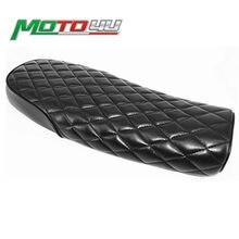 Motocykl Vintage siodełko 64cm uniwersalny cafe racer Seat dla SuzuKi GS Yamah XJ Honda MASH125 MASH20 MUTT125 czarny kolor