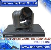 DANNOVO Niedrigsten Preis HD 1080 p PTZ Video Konferenz Kamera 10x Optische Zoom DVI  HDMI PTZ Kamera-in Konferenzsystem aus Computer und Büro bei