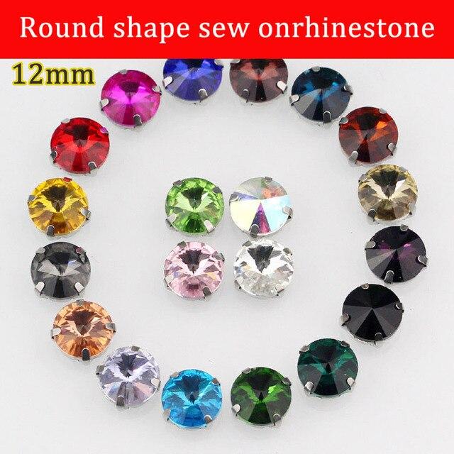 Free shipping! 12mm round Crystal glass rhinestone b506245cbb82