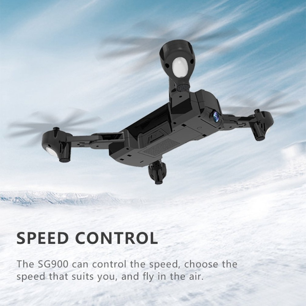 SG900 Foldable camera drone 1100mAh/2200mAh 2.4GHz 720P Drone WIFI FPV RC Drones GPS Optical Flow Positioning With CameraSG900 Foldable camera drone 1100mAh/2200mAh 2.4GHz 720P Drone WIFI FPV RC Drones GPS Optical Flow Positioning With Camera