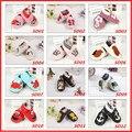 Горячая 27 Дизайн Весна Новорожденных Детская Обувь Из Натуральной Кожи Детская Обувь Мягким Дном Нескользящей Малыша Prewalker Bebe Обувь 0-24 M