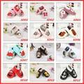 Hot 27 Design Spring Newborn Baby Shoes Genuine Leather Baby Shoes Soft Bottom Non-Slip Toddler Prewalker Bebe Shoes 0-24M
