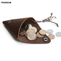 Naruto homemade original retro crazy horse leather mini coin purse men's and women's leather coin bag storage bag small wallet