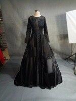 Robe De Soirée De Mode Appliqued Scoop Longue Sirène Robes De Soirée Mariée Banquet Élégant de Plancher-longueur Parti De Bal Robe ZCE004