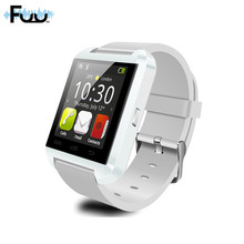 FUU U80 Inteligente Reloj Bluetooth Androide Rastreador De Fitness Pulseras Inteligentes Para Iphone HTC Smart Baby Watch PARA El Iphone Ios SP103