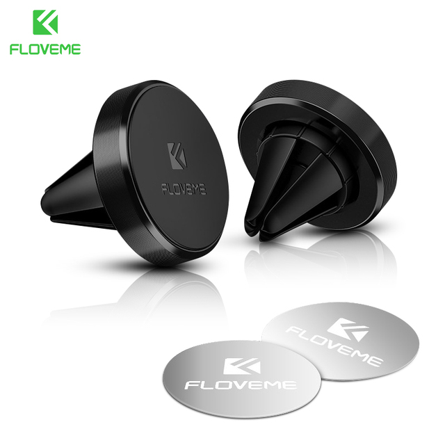 FLOVEME Magnetic Car Phone Holder Air Vent Mount Car Holder Stand For iPhone X Xs Samsung Note 9 Magnet Holder For Phone in Car