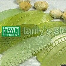half-moon-shaped guasha comb original beauty JADE comb randomly color traditional health