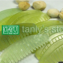 half-moon-shaped guasha comb original beauty JADE comb randomly color traditiona
