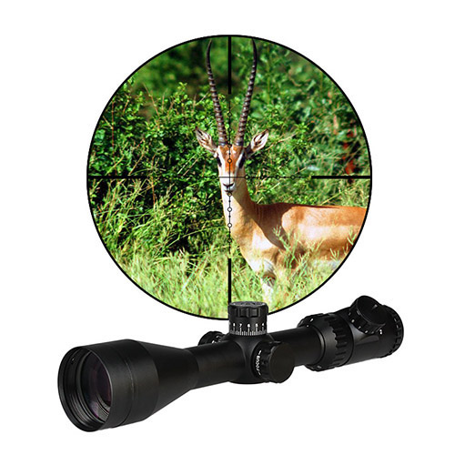 PPT New Military Tacitcal 4-16x50MM Red Illuminated 11 Positions Rifle Spotting Scope For Hunting HS1-0297