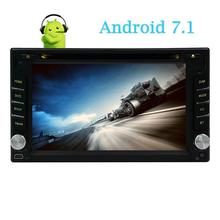 Android 7.1 Car Stereo DVD GPS Car Radio 2 din Touch screen Headunit GPS Navigation support 1080P Video Bluetooth Wifi 4G/OBD2