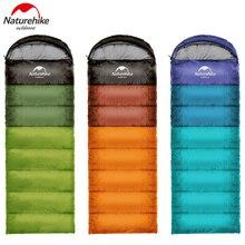 Naturehike спальный мешок легкий портативный комфорт спальные мешки с компрессионный мешок отлично подходит для весны и осени путешествия Кемпинг