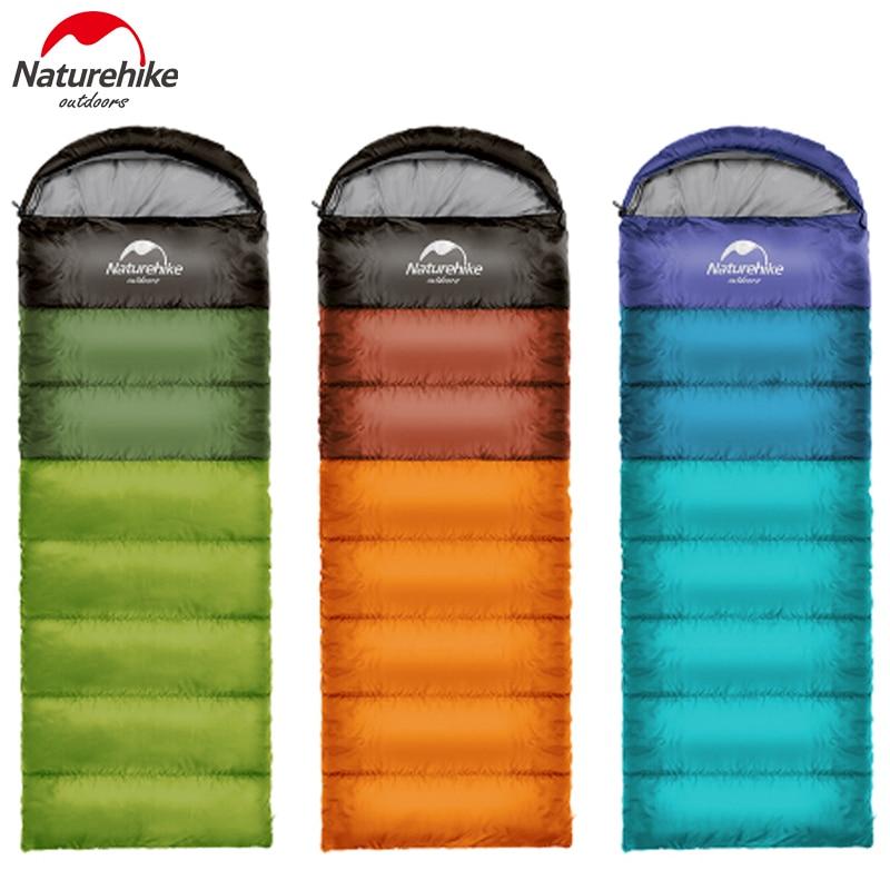 Naturehike sac de couchage Léger Portable Confort sacs de couchage Avec sac de compression Grand Pour Printemps Automne Voyager Camping
