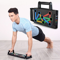 Foldable Portable ABS push up Push Ups Stands Board frames Rack chest arm home gym Muscle Strength Exercise Bar