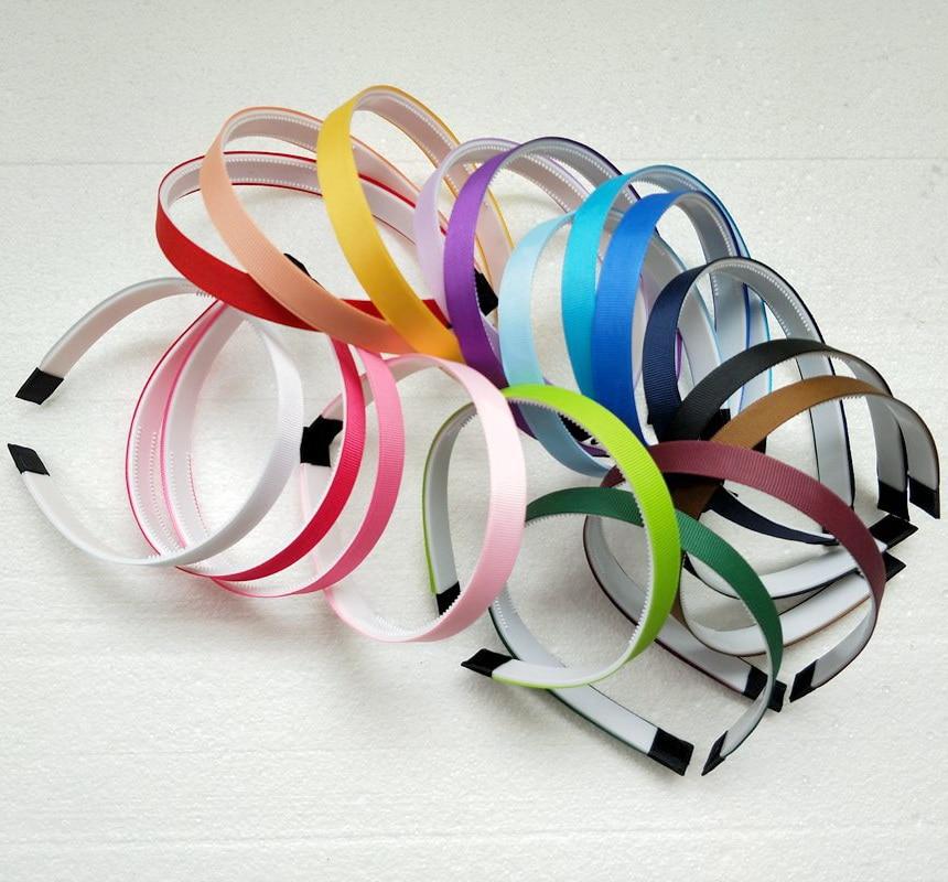 Women Headbands Hair Band Hoop Accessories Head Band Headwear Cover 1.5 CM Ribbon Teeth Plastic Hairbands For Girl 100pcs FJ3143