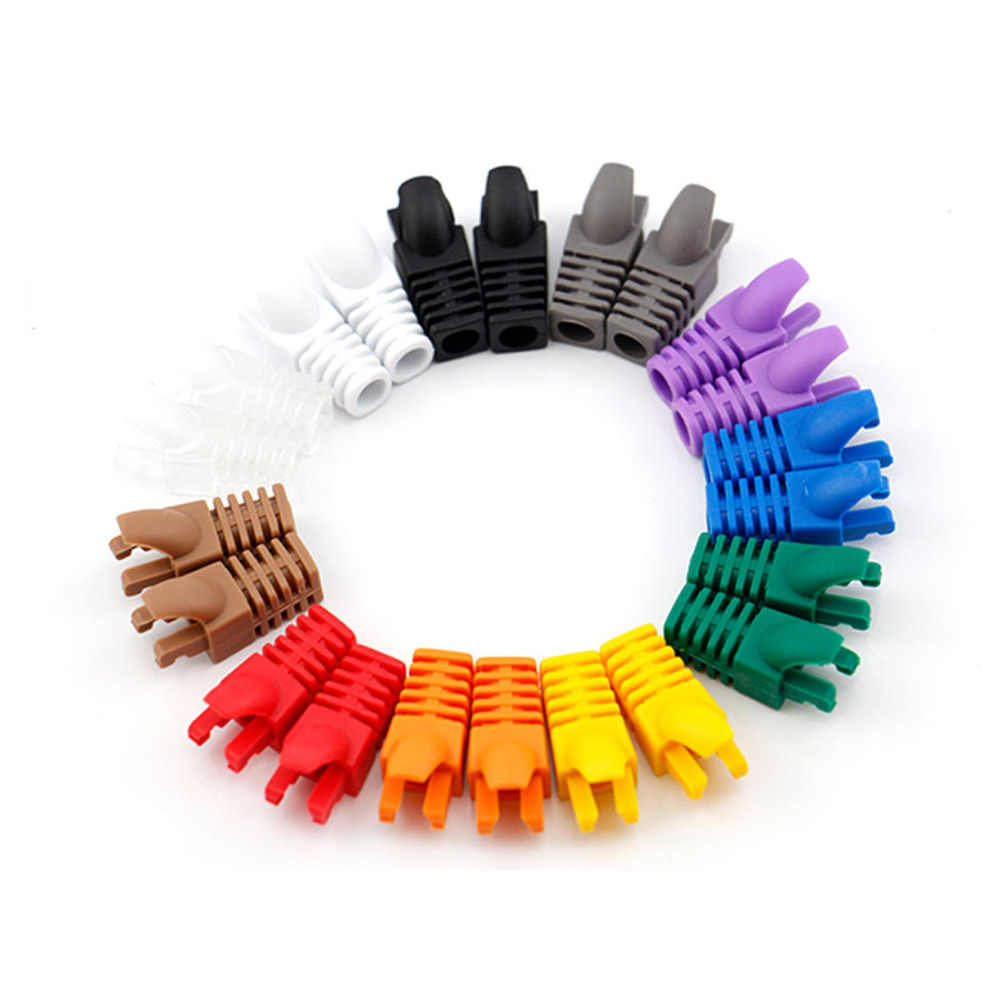 Detail Feedback Questions About Marsnaska 20pc Rj 45 Adapter Cap For Network Cable Wiring Rj45 06mm Ethernet Connector Plugs