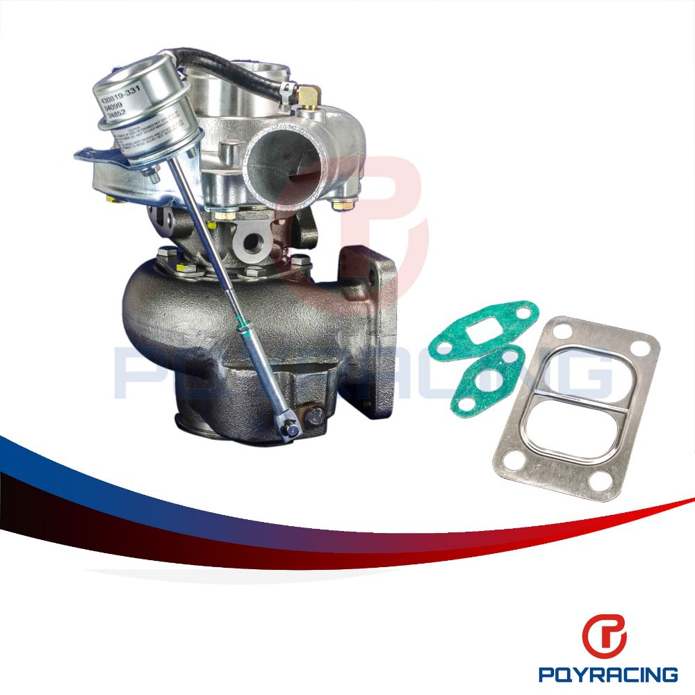 PQY STORE TURBO KKR480 Turbocharger RB20 RB25 13B A R 50 cold 70 hot t3 flange